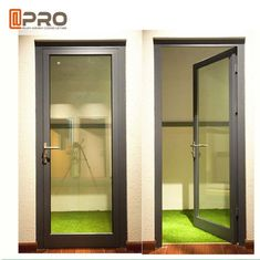 High Strength Durable Aluminium Hinged Doors With PVDF Surface Treatment ,Security door hinges door hinge manufacturer