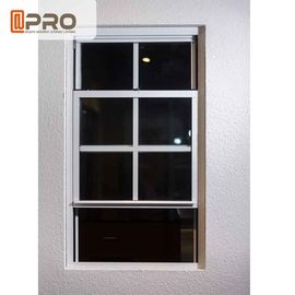 China UV Protection Aluminum Sash Windows ISO Certification With Flexibility Frame factory