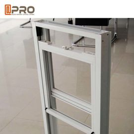 China Sound Insulation Sash Style Windows , Aluminium Vertical Sliding Sash Windows factory