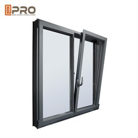 China Inward Opening Tilt And Turn Aluminium Windows Foam / Bubble And Plywood Packages factory