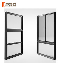 China American Single Double Hung Thermal Break Aluminum Window / Vertical Sliding Sash Window factory