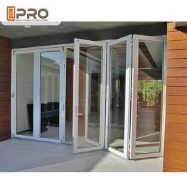 Rating Energy Saving Triple Double Glazed Folding Doors Water - Proof