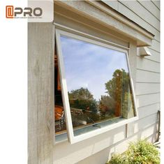 Custom Made Aluminum Awning Side Hung Window Moisture Resistance side hung window bottom hung window double hung