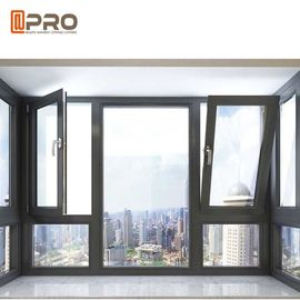 China Waterproof Tilt And Turn Aluminium Windows / Commercial Windows And Doors factory