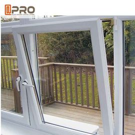 China Durable Tilt And Turn Aluminium Windows Swing Open Style Anodized Profile Finish factory