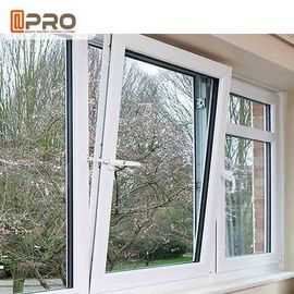 China Low - E Glass Tilt And Turn Aluminium Windows With Hardware Energy Saving factory