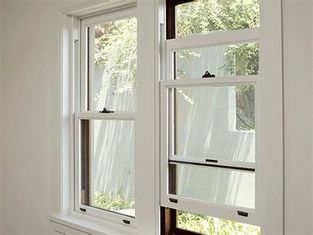 Customized Size Double Hung Aluminum Sash Windows Heat Insulation