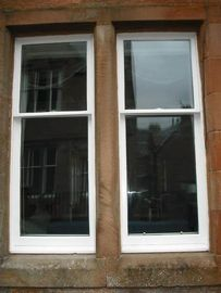 China Aluminum Sliding Box Sash Windows With Double Glazed Combustion - Retarding factory