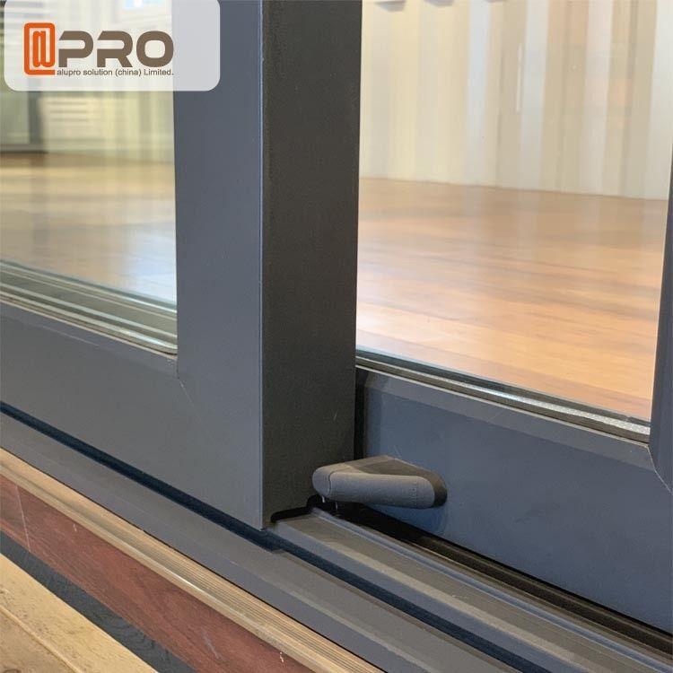 Australia Anti Noise Aluminium Sliding Glass Doors System ...