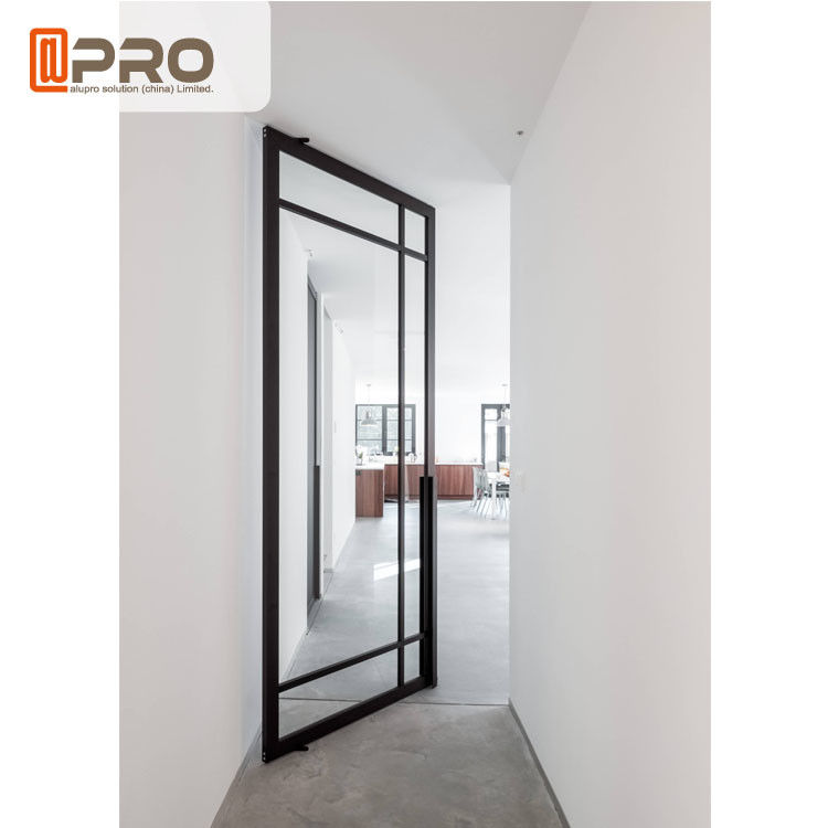 Standard Aluminum Profile Residential Entry Doors / Front Pivot Entrance Doors center pivot door entrance pivot door