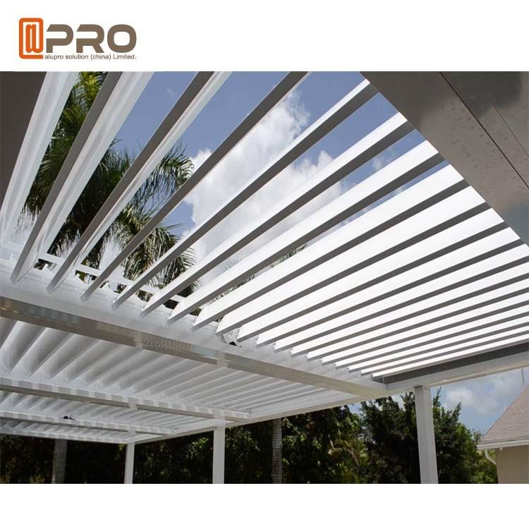 Sunproof Modern Aluminum Pergola Blade Size 150mm 200mm 265mm
