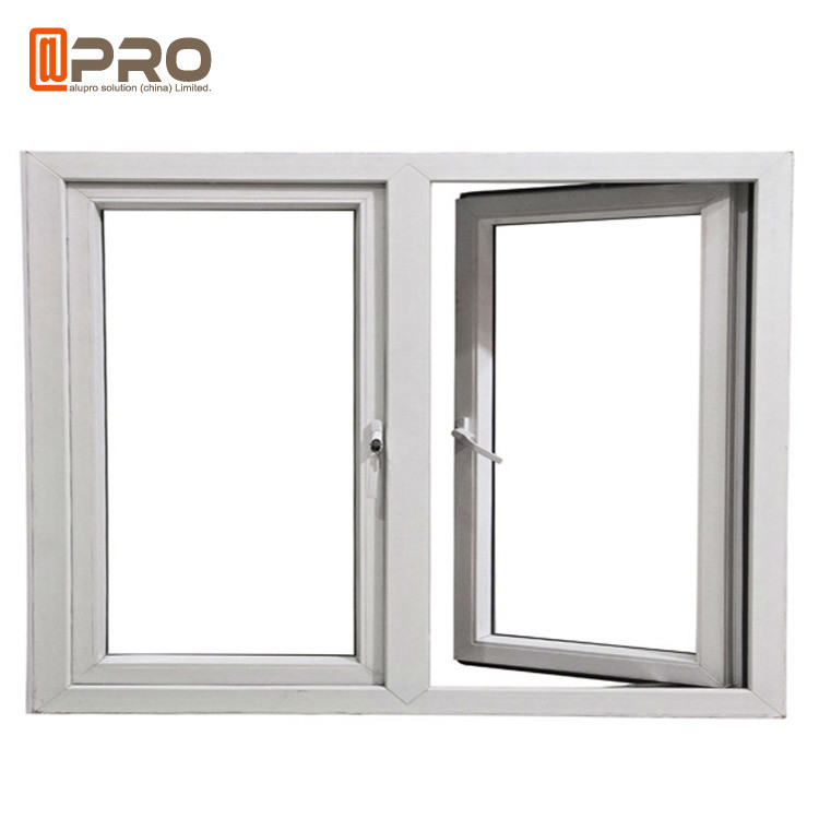 Hurricane Impact Soundproof Aluminum Casement Windows ...
