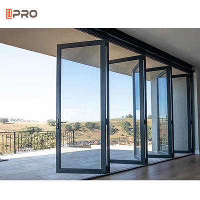 Residential 2mm Glazing Aluminium Sliding Folding Doors